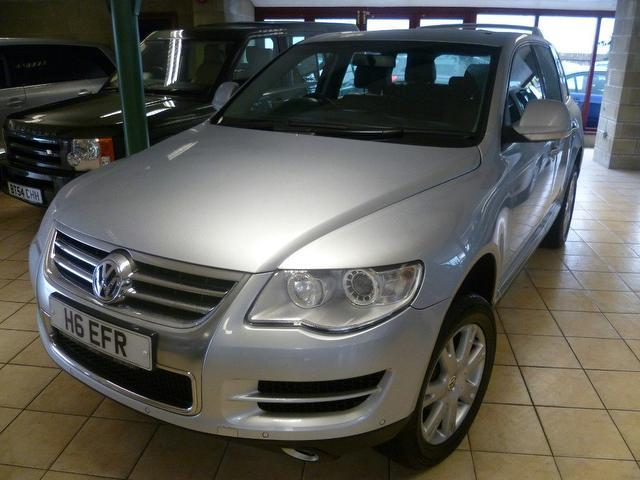 used volkswagen touareg 2007 model 3 0 v6 tdi se diesel. Black Bedroom Furniture Sets. Home Design Ideas