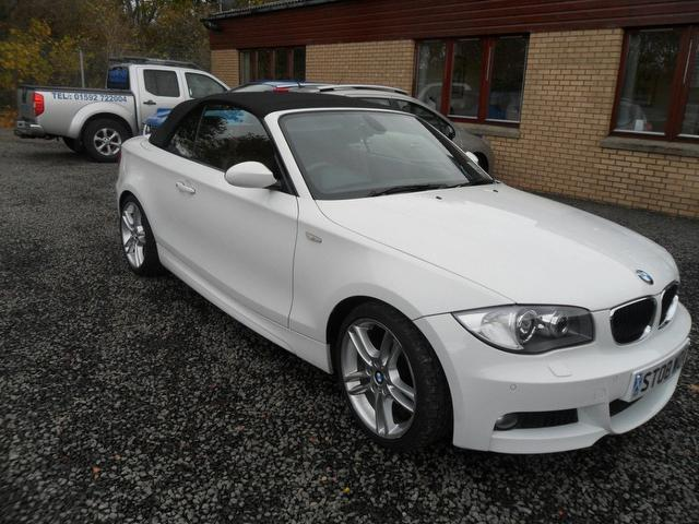 used bmw 1 series 2008 petrol 118i m sport convertible. Black Bedroom Furniture Sets. Home Design Ideas