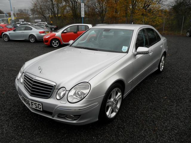 used mercedes benz 2007 model class e320 cdi avantgarde diesel saloon silver for sale in. Black Bedroom Furniture Sets. Home Design Ideas