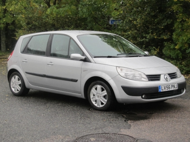 used silver renault scenic 2006 petrol excellent condition for sale autopazar. Black Bedroom Furniture Sets. Home Design Ideas