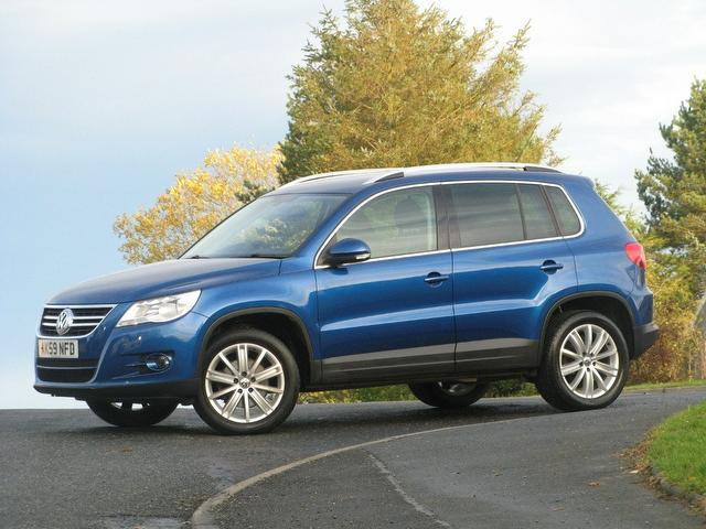 used volkswagen tiguan 2009 model 2 0 tdi sport 5dr diesel 4x4 blue for sale in turrif uk. Black Bedroom Furniture Sets. Home Design Ideas