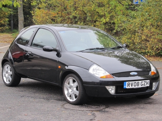 used ford ka 2008 unleaded black with for sale autopazar. Black Bedroom Furniture Sets. Home Design Ideas