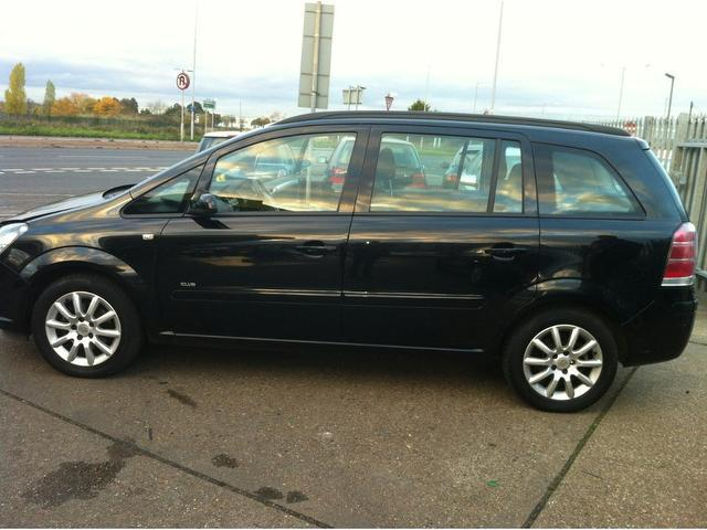 Cars Under 3000 >> Used Black Vauxhall Zafira 2006 Petrol 1.8i Club 5dr Estate In Great Condition For Sale - Autopazar