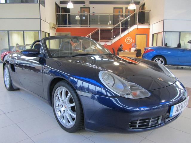 used blue porsche boxster 2000 petrol 3 2 s 2dr hardtop convertible excellent condition for sale. Black Bedroom Furniture Sets. Home Design Ideas