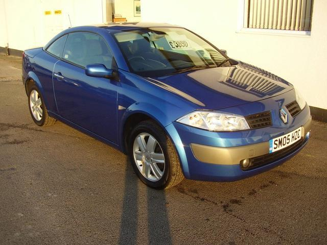 Used Cars For Sale Wirral >> Used 2005 Renault Megane Convertible 1.6 Vvt Dynamique 2dr Petrol For Sale In Wirral Uk - Autopazar