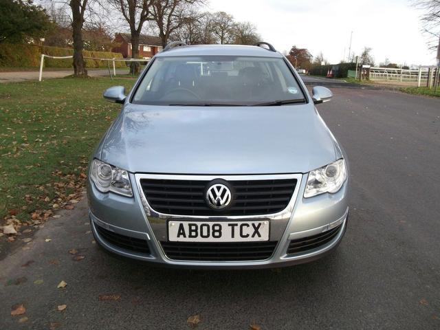 used volkswagen passat 2008 blue paint diesel 2 0 highline tdi cr estate for sale in newmarket. Black Bedroom Furniture Sets. Home Design Ideas