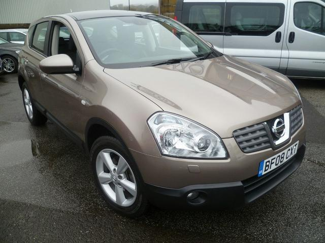 used nissan qashqai 2008 beige paint diesel 2 0 dci tekna 5dr hatchback for sale in penzance uk. Black Bedroom Furniture Sets. Home Design Ideas