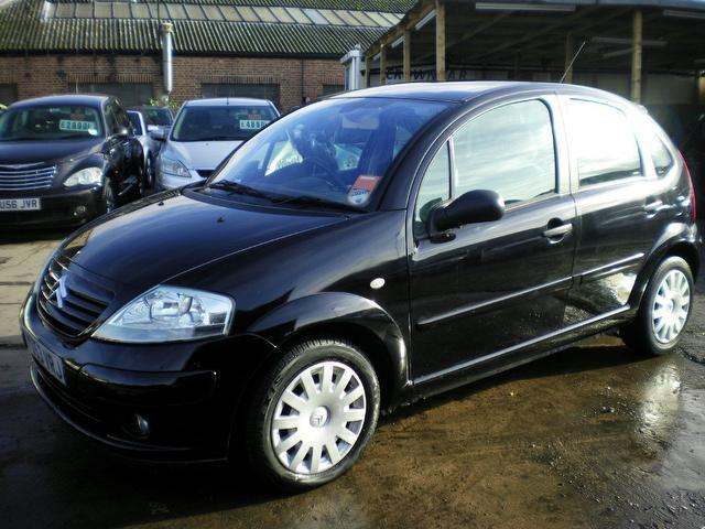 used citroen c3 2004 model sx 5dr auto petrol hatchback black for sale in wembley uk. Black Bedroom Furniture Sets. Home Design Ideas