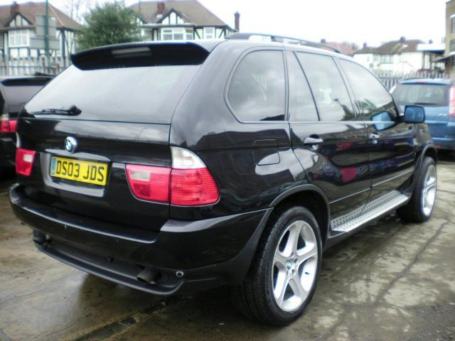 used bmw x5 car 2003 black petrol sport 5 door auto 4x4 for sale in wembley uk autopazar. Black Bedroom Furniture Sets. Home Design Ideas