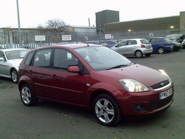 used ford fiesta 2008 red colour diesel 1 4 tdci zetec 5 door hatchback for sale in fengate uk. Black Bedroom Furniture Sets. Home Design Ideas