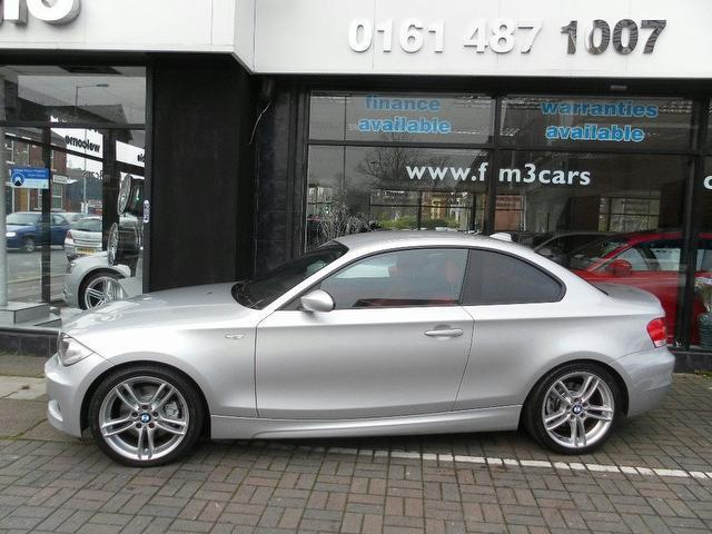 Used Silver Bmw Series Diesel D M Sport Coupe In Great - Bmw 1 series m coupe price