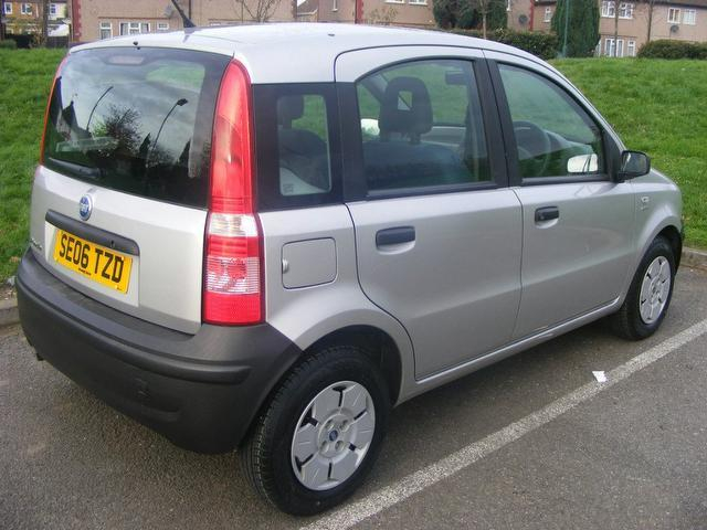 used fiat panda 2006 manual petrol 1 1 active 5. Black Bedroom Furniture Sets. Home Design Ideas