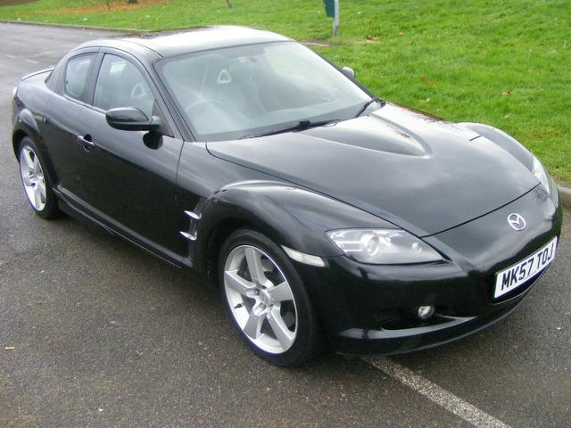 used 2007 mazda rx8 coupe black edition 4dr 192 leather 1 3 petrol for sale in wembley uk. Black Bedroom Furniture Sets. Home Design Ideas