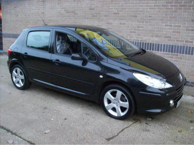 used 2007 peugeot 307 hatchback black edition 1 6 hdi sport 5dr diesel for sale in norwich uk. Black Bedroom Furniture Sets. Home Design Ideas