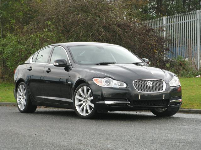 used black jaguar xf 2008 diesel 2.7d premium luxury 4dr saloon