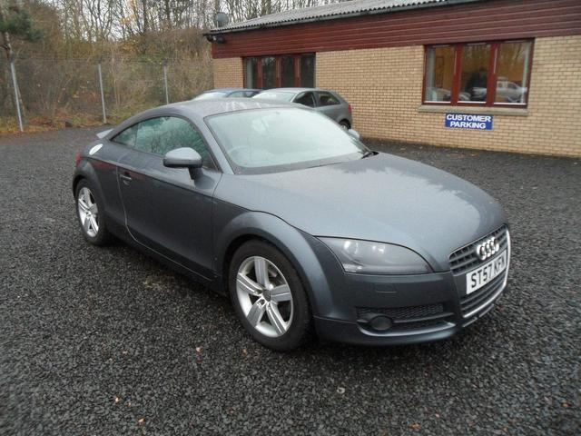 used audi tt 2007 model fsi 2dr petrol coupe grey for sale in inveralmond place uk autopazar. Black Bedroom Furniture Sets. Home Design Ideas
