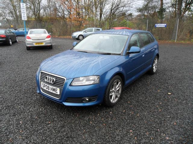 used 2008 audi a3 hatchback 1 9 tdi sport 5dr diesel for sale in inveralmond place uk autopazar. Black Bedroom Furniture Sets. Home Design Ideas