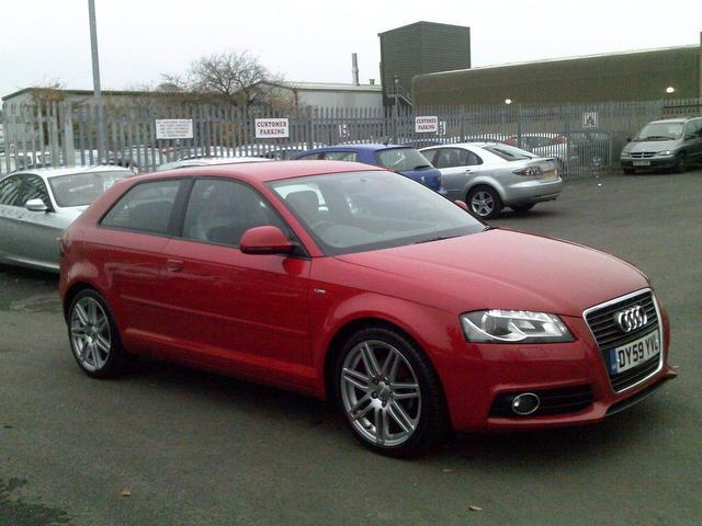 used audi a3 2009 petrol 1 8 tfsi s line hatchback red edition for sale in fengate uk autopazar. Black Bedroom Furniture Sets. Home Design Ideas