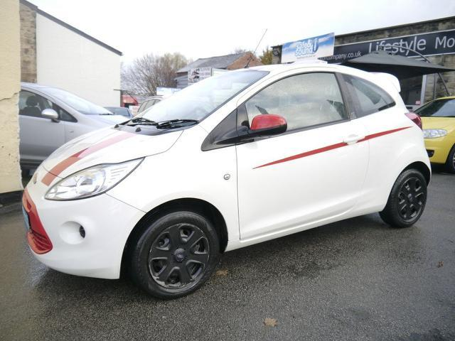 used white ford ka 2010 petrol 1 2 edge 3dr hatchback excellent condition for sale autopazar. Black Bedroom Furniture Sets. Home Design Ideas