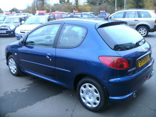 used 2008 peugeot 206 hatchback blue edition 1.4 hdi look 3dr