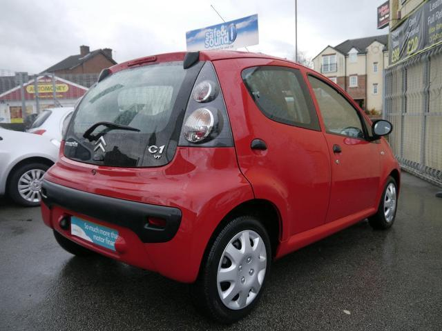 used 2009 citroen c1 hatchback red edition vt 5dr petrol for sale in wakefield uk autopazar. Black Bedroom Furniture Sets. Home Design Ideas