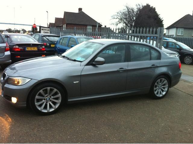 used bmw 3 series 2009 grey colour diesel 318d se 4 door saloon for sale in ashford uk autopazar. Black Bedroom Furniture Sets. Home Design Ideas