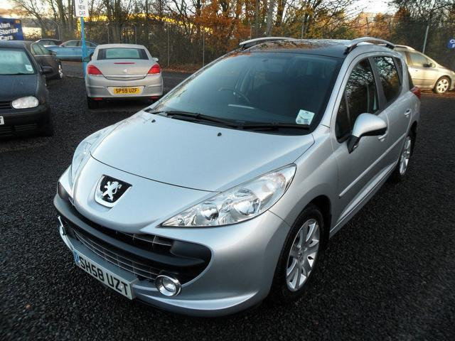 used peugeot 207 2008 model 1 6 hdi 90 sport diesel estate silver for sale in inveralmond place. Black Bedroom Furniture Sets. Home Design Ideas