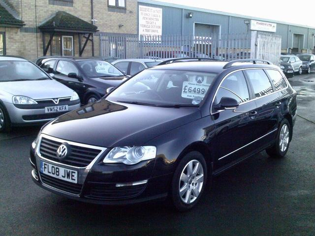 used volkswagen passat car 2008 black diesel 2 0 se tdi 5 door estate for sale in fengate uk. Black Bedroom Furniture Sets. Home Design Ideas