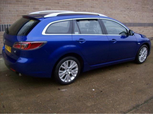 used mazda mazda6 2009 blue colour diesel ts2 163bhp. Black Bedroom Furniture Sets. Home Design Ideas