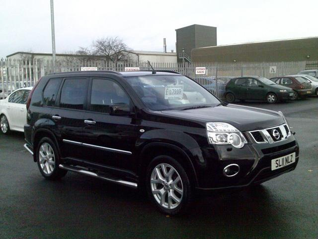 used 2011 nissan x trail 4x4 black edition 2 0 dci 173 tekna diesel for sale in fengate uk. Black Bedroom Furniture Sets. Home Design Ideas