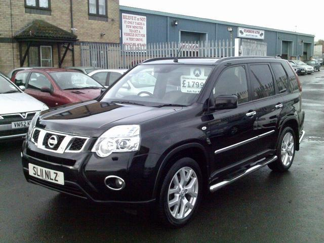 used 2011 nissan x trail 4x4 black edition 2 0 dci 173. Black Bedroom Furniture Sets. Home Design Ideas