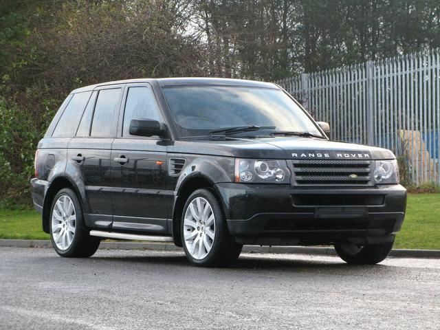Used Land Rover Range Car 2008 Black Diesel Sport 2 7 4x4
