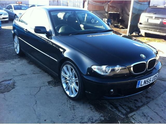 used black bmw 3 series 2005 diesel 320 cd se coupe excellent condition for sale autopazar. Black Bedroom Furniture Sets. Home Design Ideas
