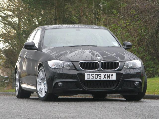 Used 2009 Bmw 3 Series Saloon Black Edition 320i M Sport Petrol For ...