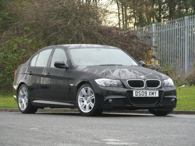 used 2009 bmw 3 series saloon black edition 320i m sport petrol for sale in turrif uk autopazar. Black Bedroom Furniture Sets. Home Design Ideas
