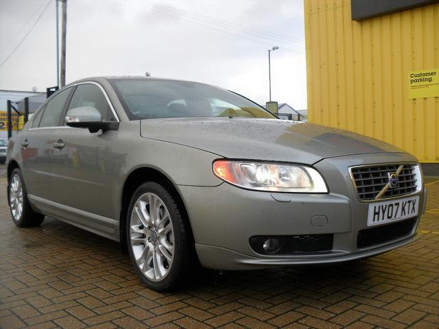 used volvo s80 2007 petrol 3 2 se sport 4dr saloon green. Black Bedroom Furniture Sets. Home Design Ideas