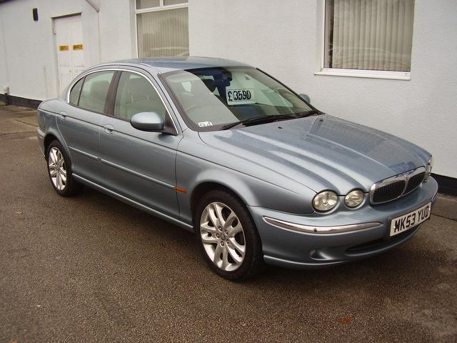 used blue jaguar x type 2003 petrol 2 0 v6 4dr saloon in. Black Bedroom Furniture Sets. Home Design Ideas