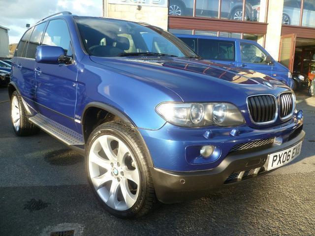 used bmw x5 car 2006 blue diesel sport exclusive edition 4x4 for sale in penzance uk. Black Bedroom Furniture Sets. Home Design Ideas