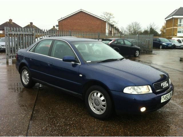 Used Audi A4 2001 Blue Saloon Petrol Automatic for Sale