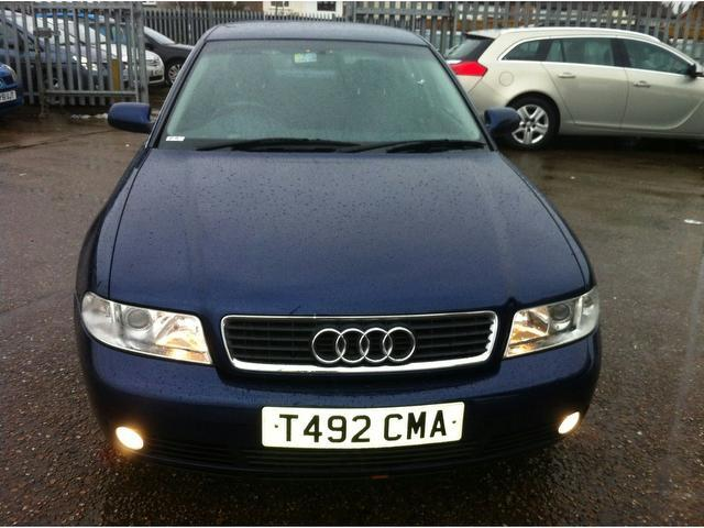 Used Audi A4 2.4 4 Door Auto  Saloon Blue 2001 Petrol for Sale in UK