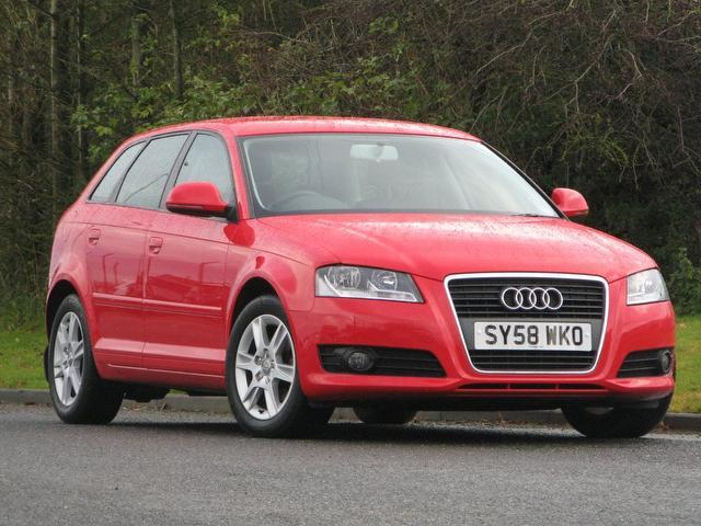 used audi a3 car 2008 red diesel 1 9 tdi se 5 door hatchback for sale in turrif uk autopazar. Black Bedroom Furniture Sets. Home Design Ideas