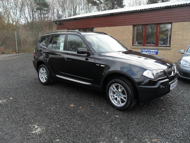 used bmw x3 car 2005 black petrol se 5 door 4x4 for sale in inveralmond place uk autopazar. Black Bedroom Furniture Sets. Home Design Ideas