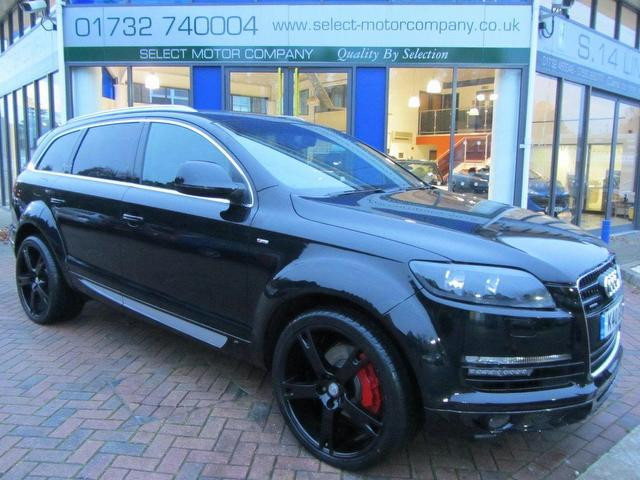 used 2008 audi q7 4x4 black edition 3 0 tdi quattro 240. Black Bedroom Furniture Sets. Home Design Ideas