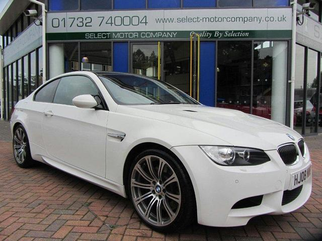 used bmw m3 2008 petrol 2dr navigation system 4 0 coupe white edition for sale in sevenoaks uk. Black Bedroom Furniture Sets. Home Design Ideas