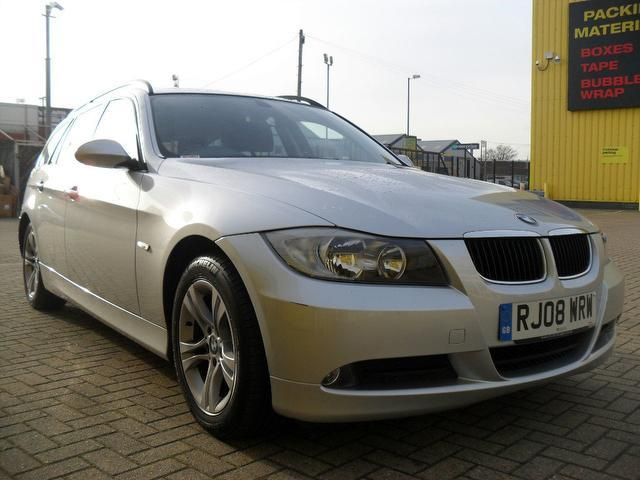 used bmw 3 series car 2008 silver diesel 320d se 177 estate for sale in portsmouth uk autopazar. Black Bedroom Furniture Sets. Home Design Ideas