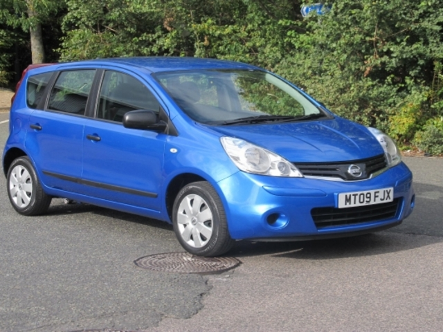 Used 2009 Nissan Note Blue Edition Petrol For Sale In
