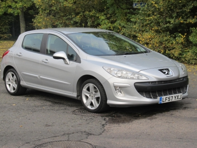 Used Silver Peugeot 308 2007 Petrol Excellent Condition
