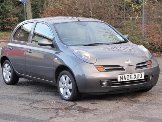 used nissan micra 2005 petrol gray with for sale autopazar. Black Bedroom Furniture Sets. Home Design Ideas