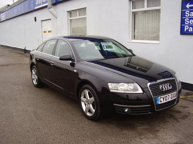 Used Black Audi A6 2007 Diesel 2 0 Tdi Tdv Se Saloon In