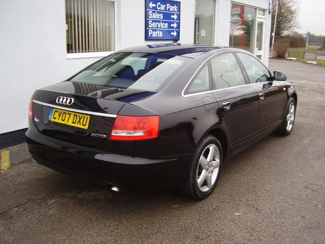 used black audi a6 2007 diesel 2 0 tdi tdv se saloon in great condition for sale autopazar. Black Bedroom Furniture Sets. Home Design Ideas